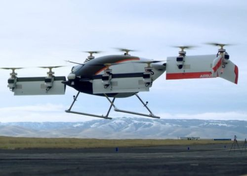 Airbus Drone Taxi Takes To The Air For 53 Seconds