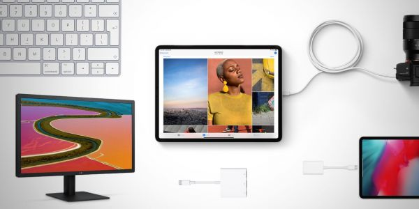 What can you connect to the new iPad Pro with USB-C?