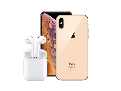 Enter now to win an Apple iPhone XS Max and a set of AirPods