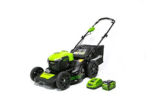 Greenworks Pro 60V Electric Lawn Mower Review