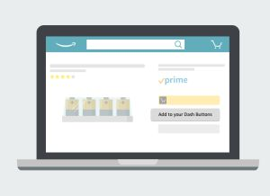 Amazon Virtual Dash Buttons for UK Prime members