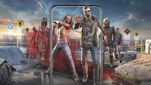The Walking Dead: Our World uses AR to bring zombie hordes to your door