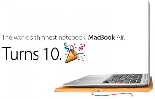 Steve Jobs Introduced the MacBook Air Exactly 10 Years Ago Today