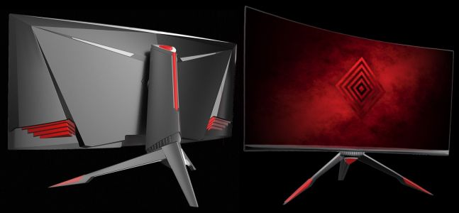 Curved gaming monitor wows with 'UWHD' LCD at 200Hz refresh rate