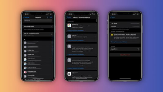 IOS 14: iCloud Keychain now alerts users about leaked passwords, more