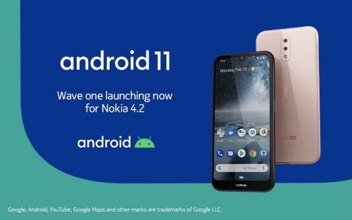 Nokia 4.2 Android 11 update starts rolling out in select markets