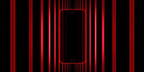 Apple overhauls homepage for RED, including sleek new iPhone 8 ad