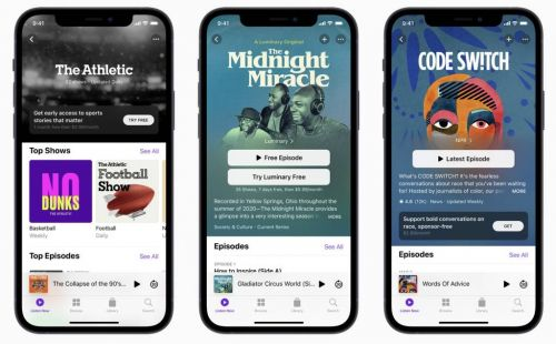 IOS 14.6 now available with Apple Card Family and Podcasts Subscriptions