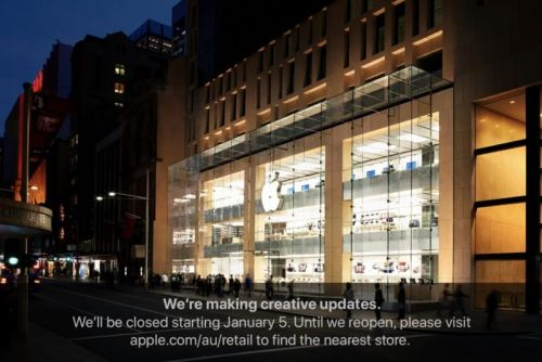 Apple Store in Sydney Closing January 5 to Undergo Renovations