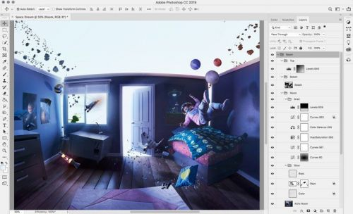 Adobe Bringing Full Version of Photoshop CC to iPad in 2019