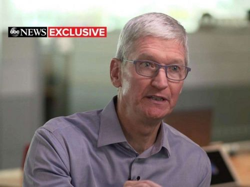 Apple CEO Tim Cook vows to fight for DACA until his 'toes point up'
