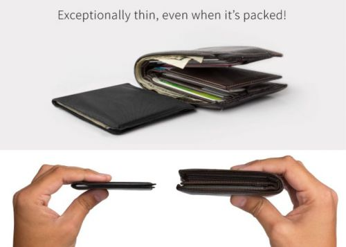Stealth Wallet made from body armour material