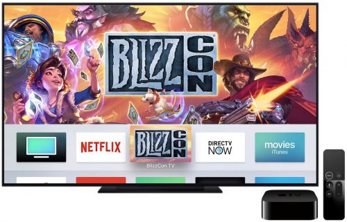 Blizzard Launches New Apple TV App for Streaming Video During BlizzCon 2018
