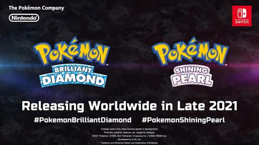 Pokemon Gen IV Remakes Brilliant Diamond and Shining Pearl Are Coming