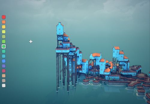 'Townscaper' iOS Review - Relaxing Brilliance