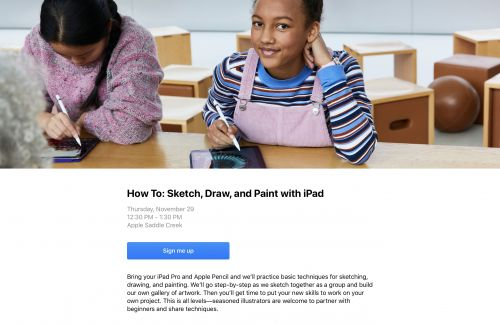 Apple's Free In-Store Classes Are Worth Taking Advantage Of