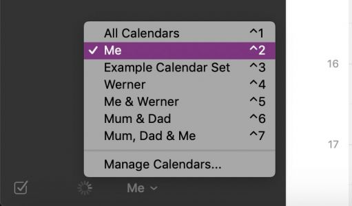 How to Make Calendar Groups in Fantastical for the Mac