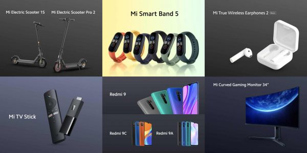 Xiaomi Announces New Scooters, Gaming Monitor, & Fitness Band, Oh My!