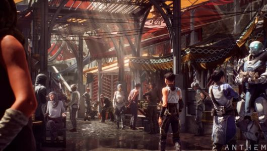 Anthem: BioWare reveals cast of characters for sci-fi online shooter
