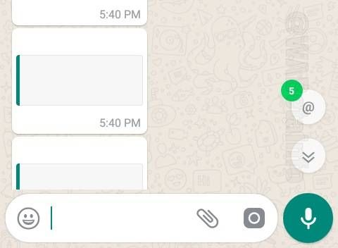 WhatsApp Beta For Android Introduces Mention Notifications