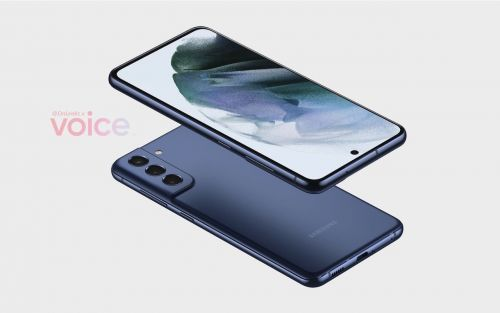 Samsung Galaxy S21 FE first image renders surface online
