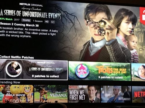 Netflix Nixes Feature That Gave Patches to Kids for Watching TV