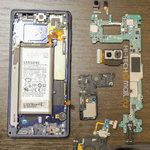 World-first Samsung Galaxy Note 9 teardown shows huge water cooling system