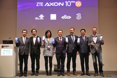 ZTE Axon 10 Pro 5G Is Official With Snapdragon 855, Available In H1