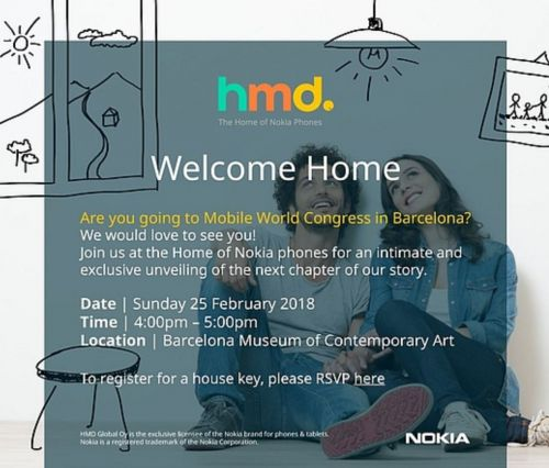 "HMD Reveals The Date Of Its ""Intimate"" MWC 2018 Nokia Event"