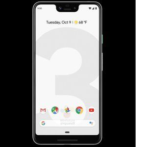 Google Pixel 3 and Pixel 3 XL show up in both black and white in 'really official' renders
