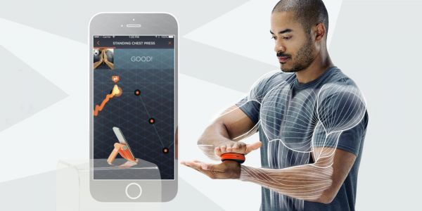 Activbody Activ5 tracks your isometric workout stats, saves to HealthKit, now available at Apple Stores