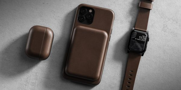 Nomad brings Horween leather stylings to Apple's new MagSafe Battery Pack