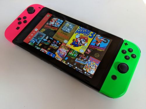 How to turn on Low-latency mode for NES games on Switch