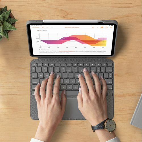 Logitech Launches New Combo Touch Keyboard For The iPad Air 4