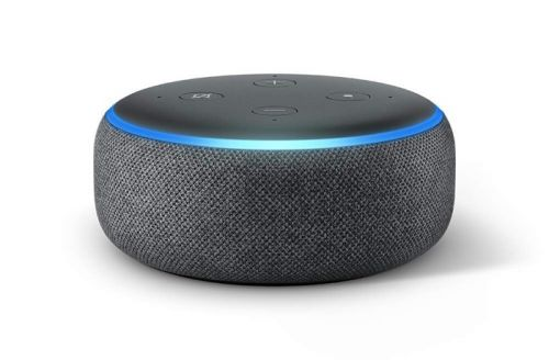 This is the new Amazon Echo Dot