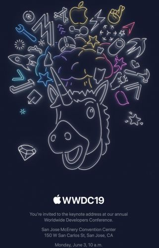 Apple Sends Out Media Invites for WWDC Keynote on June 3