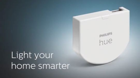 Philips Hue Announces New Wall Switch Module, Dimmer Switch, and Outdoor Light Bar