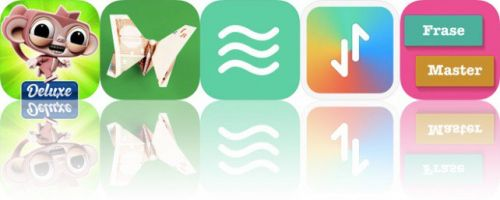 Today's Apps Gone Free: Dare the Monkey, Money Origami, Ananda and More
