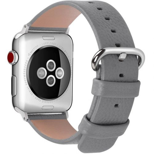 What are the bands for the Silver Aluminum Apple Watch?