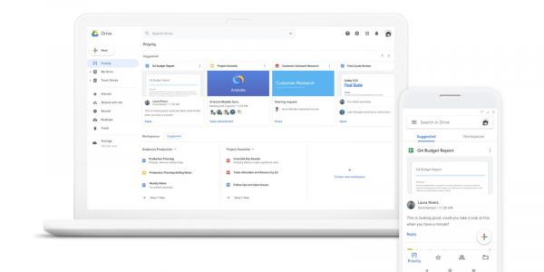 Google Drive opens beta for 'Priority' AI file suggestions and 'Workspaces'