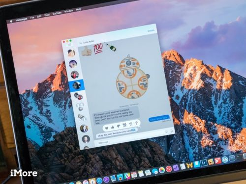 How to use Messages effects in macOS
