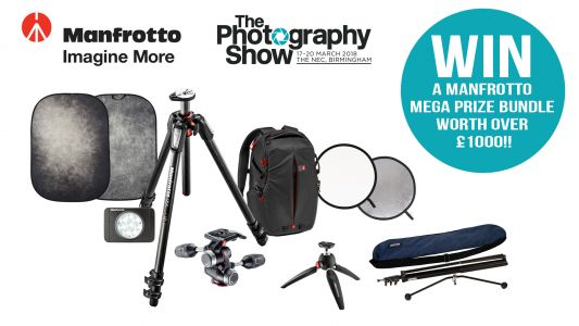 WIN! A Manfrotto Mega Bundle worth over £1000