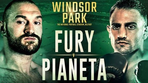 How to watch Tyson Fury vs Francesco Pianeta: live stream the big fight free from anywhere