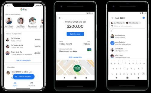 Google Pay gets boarding passes, ability to send money to contacts
