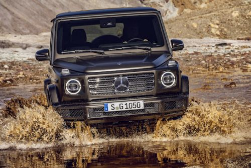 This Is The New Mercedes G Class