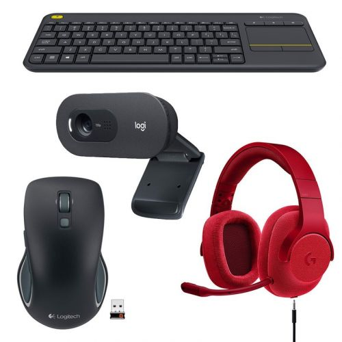 Save big on Logitech mice, keyboards, webcams, and more today only