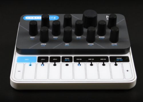 Modal CRAFTsynth 2.0 Monophonic wavetable synthesiser