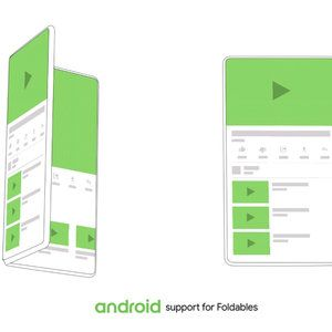 Android will officially support new interface category for foldable phones