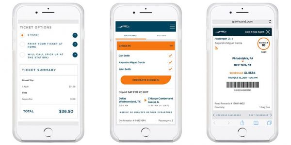 Greyhound finally offering mobile tickets in its iOS app, can convert existing tickets