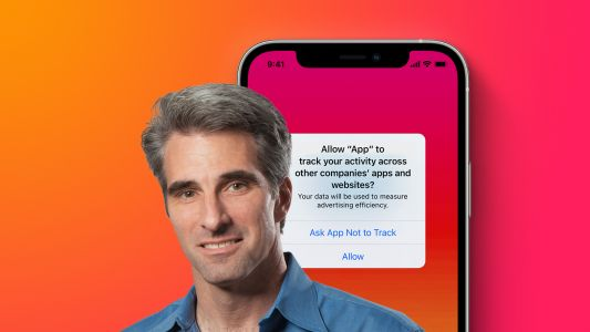 Apple's Craig Federighi on App Tracking Transparency: 'Users Deserve and Need Control' of Data